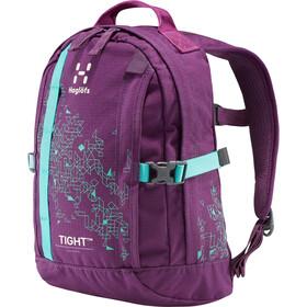 Haglöfs Tight Junior 8 Sac à dos Enfant, purple crush/crystal lake